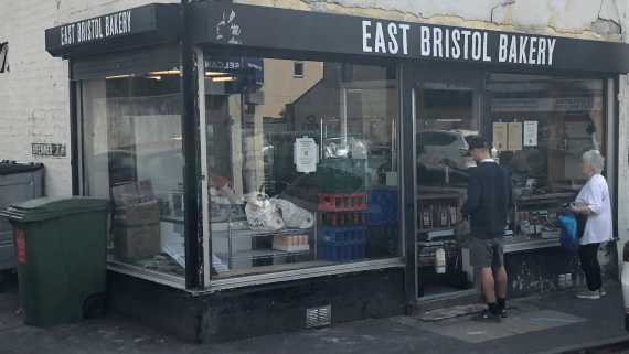 Photo: Easton Bakery hatch, St Marks Road