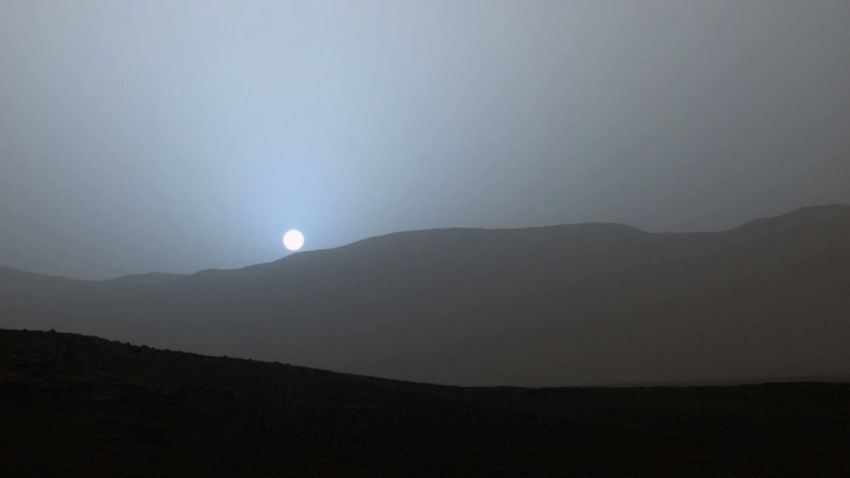 NASA - Sunset on Mars